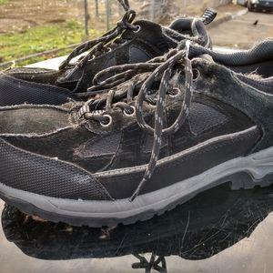 Sears die-hard steel toed work shoes